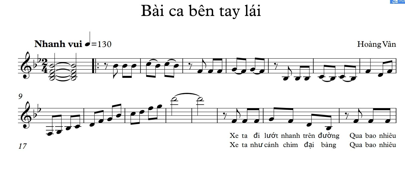 Bài ca bên tay lái
